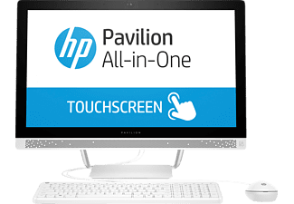 HP Pavilion 24-b200ng, All-in-One-PC mit 23.8 Zoll, 1 TB Speicher, 8 GB RAM, Core™ i5 Prozessor, Weiß