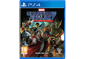 Marvel's Guardians of the Galaxy: The Telltale Series PS4