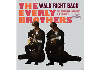 The Everly Brothers - WALK RIGHT BACK THE COMPLETE 1956-62 U.S.SINGLES - (CD)