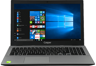 CASPER Nirvana F800.7500-AT40P-S-IF i7.7500U 12GBDDR4 1TB 940MX Win 10 Notebook