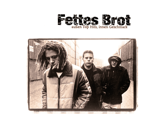 Fettes Brot - Außen Top Hits, Innen Geschmack (Clear 2LP+MP3) (Remastered/Gatefold) - (LP + Download)