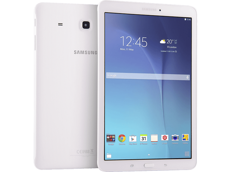 SAMSUNG Galaxy Tab E 3G White computing   tablets   offline tablets android tablets laptop  tablet  computing