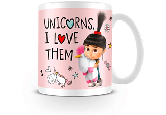 Despicable Me 3 Tasse Unicorns, I Love them