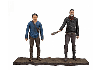 The Walking Dead Actionfiguren Glenn und Negan Mat