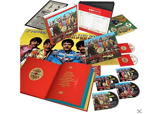 The Beatles - Sgt.Pepper's Lonely Hearts Club Band (50th Anniv.) - (Blu-ray + CD + DVD)