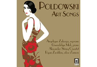 Angelique Zuluaga, Gwendolyn Mok, Alexander String Quartet, Ryan Zwahlen - Art Songs - (CD)