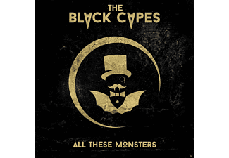 The Black Capes - All These Monsters - (CD)