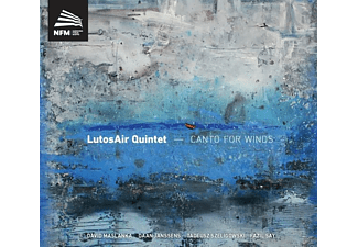 Lutosair Quintet - Canto for Winds - (CD)