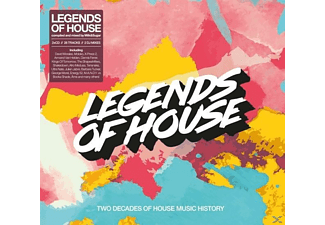 Diverse House - Legends Of House - (CD)