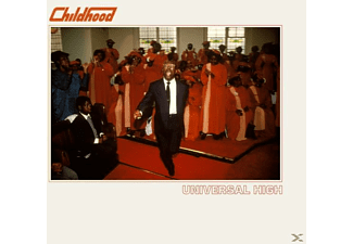 Childhood - UNIVERSAL HIGH (RED VINYL+MP3) - (LP + Download)