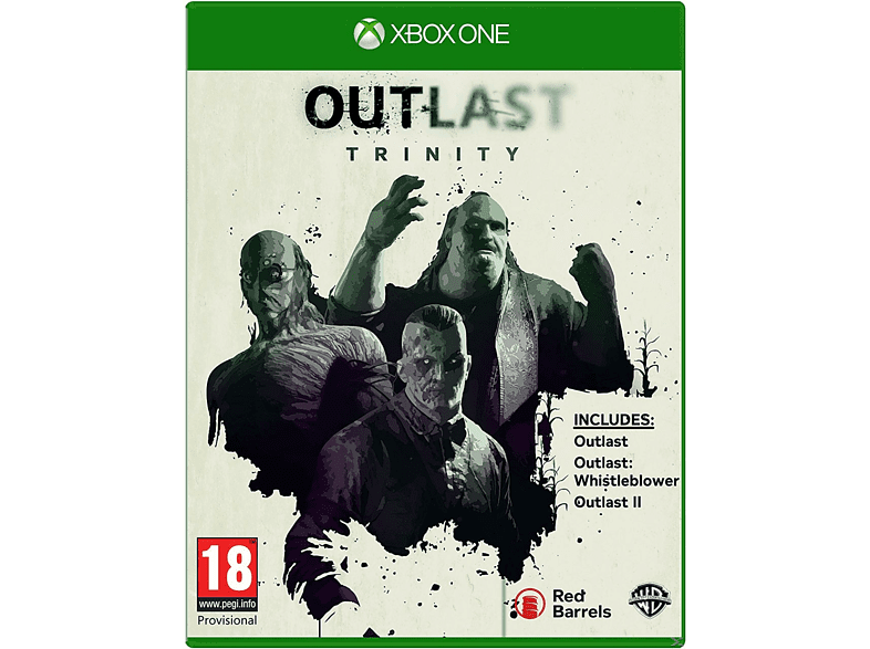 OUTLAST TRINITY Xbox One gaming games xbox one games