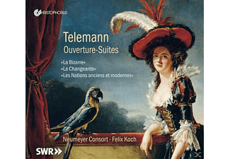 Felix/neumeyer Consort Koch - Orchestersuiten - (CD)
