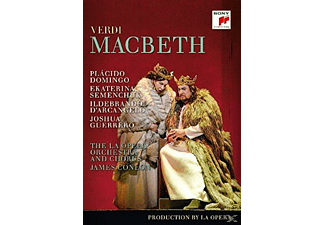 Plácido Domingo, Los Angeles Opera, James Conlon - Macbeth - (DVD)