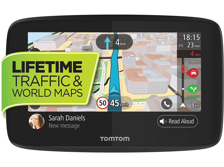 TOM-TOM GO 520 World with WiFi World - (1PN5.002.03) smartphones   smartliving συσκευές πλοήγησης  gps πλοήγηση