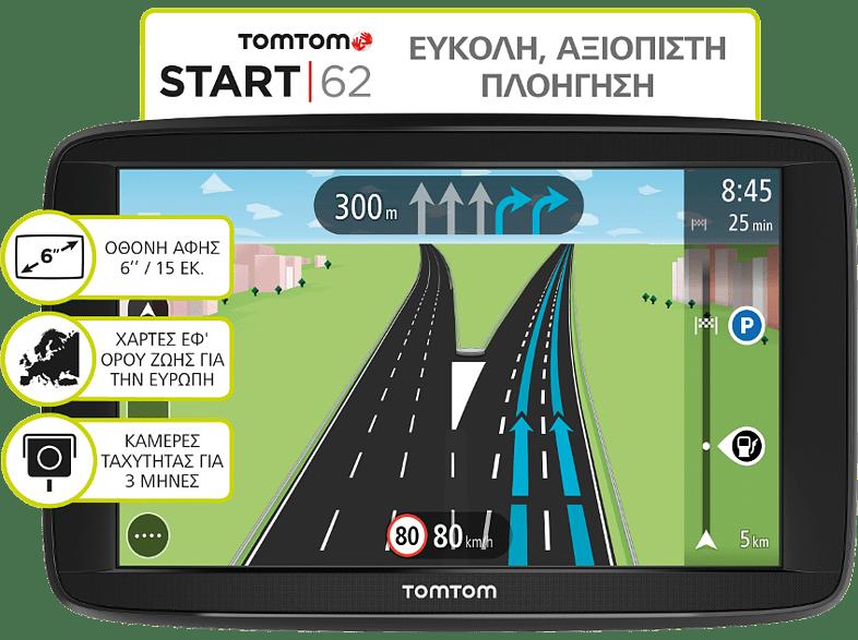 TOM-TOM Start 62 EU - (1AA6.002.03) smartphones   smartliving συσκευές πλοήγησης  gps πλοήγηση