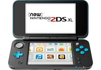 NINTENDO New Nintendo 2DS XL - Svart/Turkos