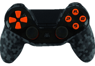 NORDIC GAME SUPPLY PS4 Controller Pro5 Orange Wireless, Controller