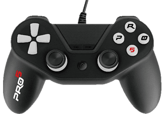NORDIC GAME SUPPLY PS4 Controller Pro5 Schwarz, Controller, 3 m