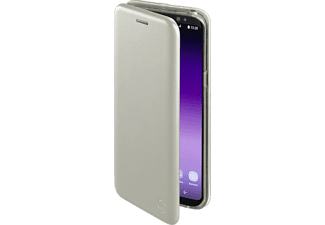 HAMA Curve, Bookcover, Samsung, Galaxy S8+, Polyurethan/Thermoplastisches Polyurethan, Silber