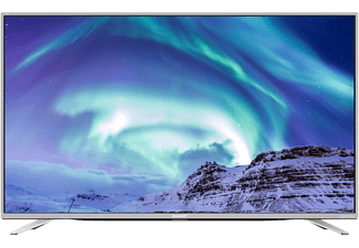 "SHARP LC-55CUF8472ES 55"" Smart UHD 4K TV - Silver"