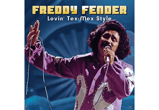 Freddy Fender - LOVIN' TEX-MEX STYLE - (CD)