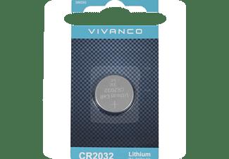 vivanco lithium knopfzelle cr2032 3v 210 mah 1 st ck batterien kaufen bei saturn. Black Bedroom Furniture Sets. Home Design Ideas