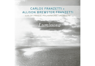 Carlos Franzetti, Allison Brewster Franzetti, VARIOUS, The City Of Prague Philharmonic Orchestra - LUMINOSA - (CD)