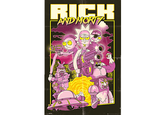 Rick and Morty Poster Action Movie