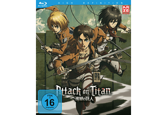 Attack on Titan Vol. 4 - (Blu-ray)