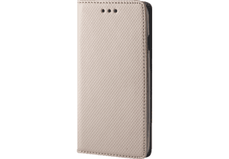 AGM Bookstyle Magnet Galaxy S8+ Handyhülle, Gold