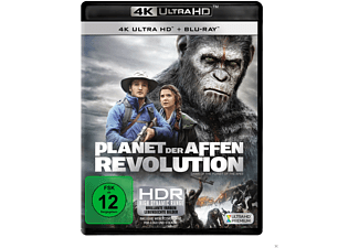 Planet der Affen - Revolution - (4K Ultra HD Blu-ray + Blu-ray)