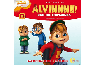 Alvinnn!!! Und Die Chipmunks - (8)HSP z.TV-Serie-Superhelden - (CD)