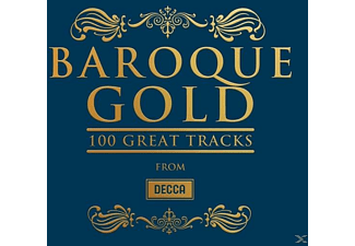 VARIOUS - BAROQUE GOLD 100 GREATEST TRACKS - (CD)