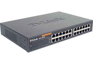 D-LINK 24-Port Layer2 Fast Ethernet, SMB Switch