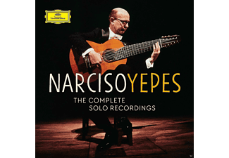 Narciso Yepes - THE COMPLETE SOLO RECORDINGS ON DG - (CD)
