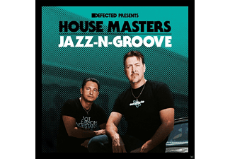 VARIOUS - DEFECTED PRES. HOUSE MASTERS-JAZZ-N-GROOVE - (CD)