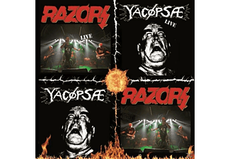 Razors, Yacöpsae - Split - (CD)
