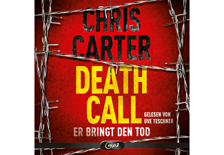 DEATH CALL-ER BRINGT DEN TOD - 2 MP3-CD - Krimi/Thriller