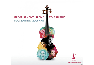 Florentine Mulsant - FROM USHANT ISLAND TO ARMENIA - (CD)