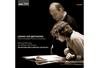 Hannes Minnaar, Jan Willem De Vriend - THE COMPLETE PIANO CONCERTOS - (SACD Hybrid)