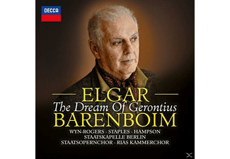 Daniel Barenboim, Staatskapelle Berlin, Thomas Hampson, Staatsopernchor Berlin, Catherine Wyn-rogers, Andrew Staples - THE DREAM OF GERONTIUS - (CD)