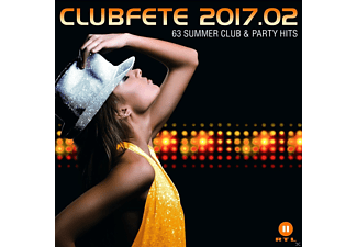 VARIOUS - CLUBFETE 2017.02 (63 SUMMER CLUB & PARTY HITS) - (CD)