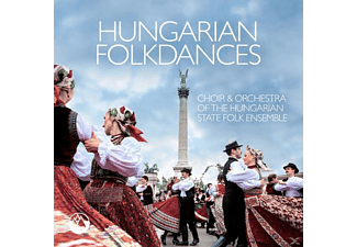 Choir & Orchestra Of The Hungarian State Folk Ense - HUNGARIAN FOLKDANCES - (CD)