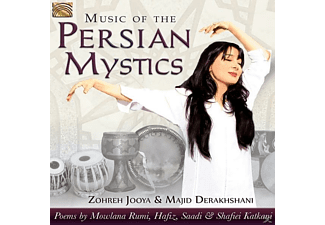 Zohreh Jooya, Majid Derakhshani - MUSIC OF THE PERSIAN MYSTICS - (CD)