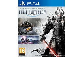 Final Fantasy XIV Online Complete Collector's Edition PS4