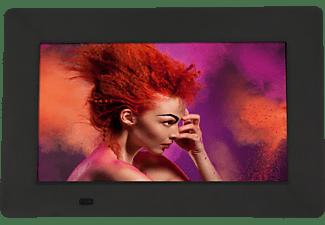 ROLLEI Pissarro DPF-700 Digitaler Bilderrahmen , 17.8 cm, 800 x 480 Pixel, Schwarz