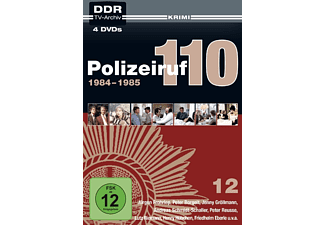 DDR TV-Archiv Polizeiruf 110-Box 12: 1984-1985 - (DVD)