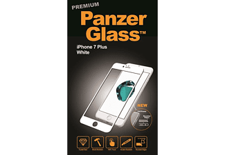 PANZERGLASS Premium iPhone 7 Plus Wit