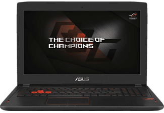 ASUS GL502VM-FY198T, Gaming-Notebook mit 15.6 Zoll Display, Core™ i7 Prozessor, 16 GB RAM, 1 TB HDD, 256 GB SSD, GeForce GTX 1060, Schwarz