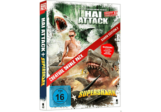 Creature Double Pack 2 - Hai Attack - (DVD)